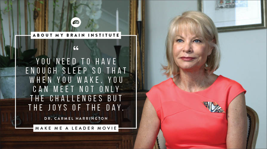 About My Brain Institute - Sleep-to-Lead-Improving-Cognitive-Function-And-Performance