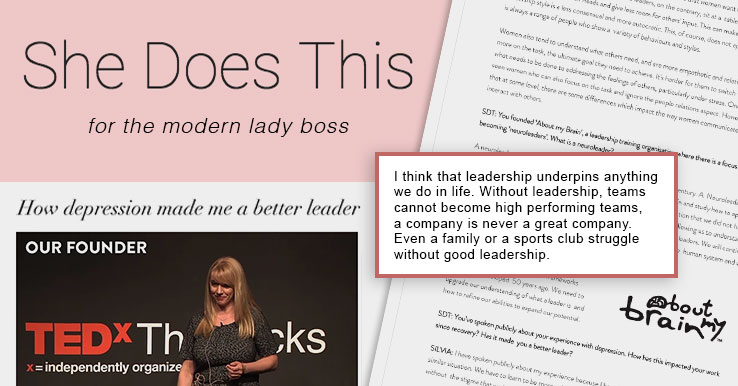 She Does This: How Depression Made Me A Better Leader