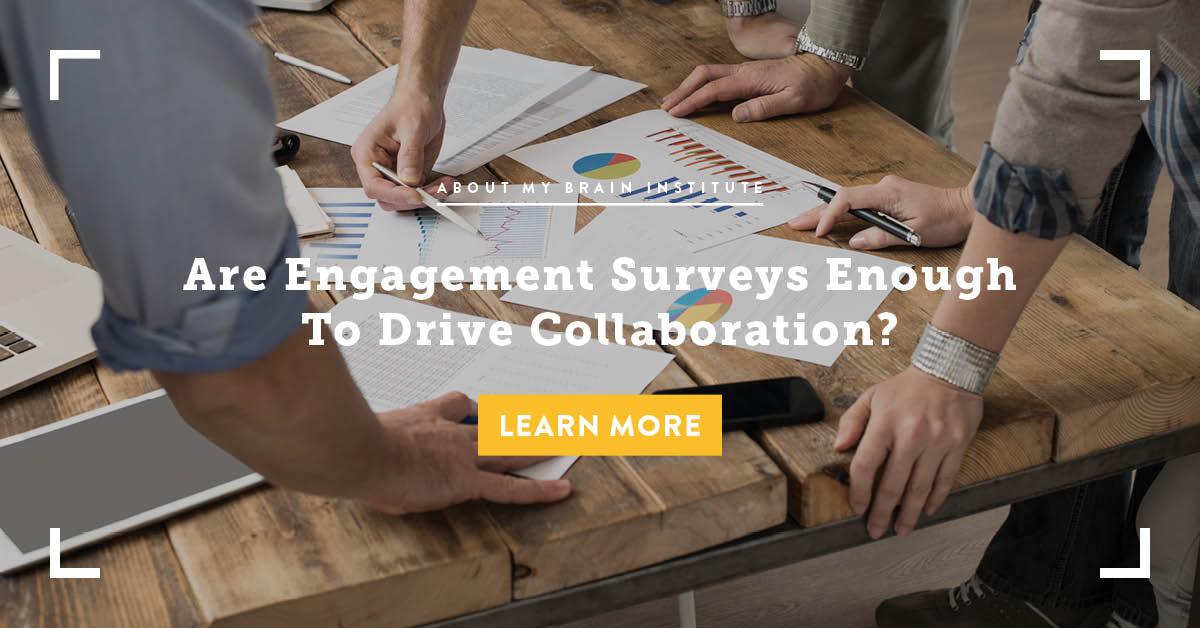 Are Engagement Surveys Enough To Drive Collaboration?