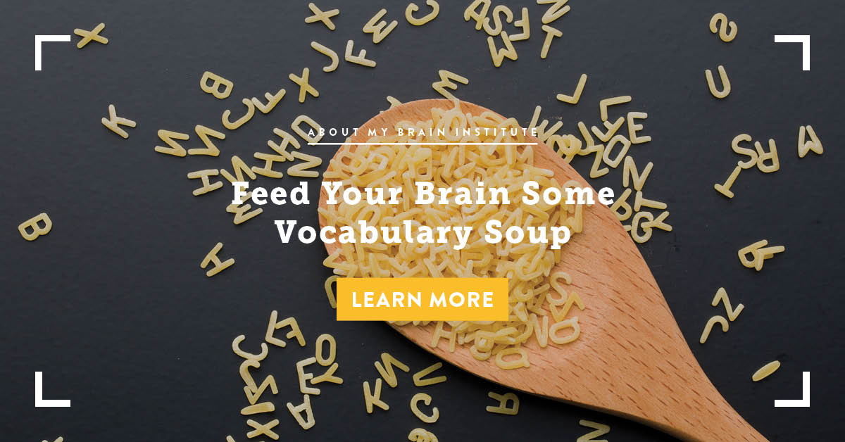 Feed Your Brain Vocabulary Soup