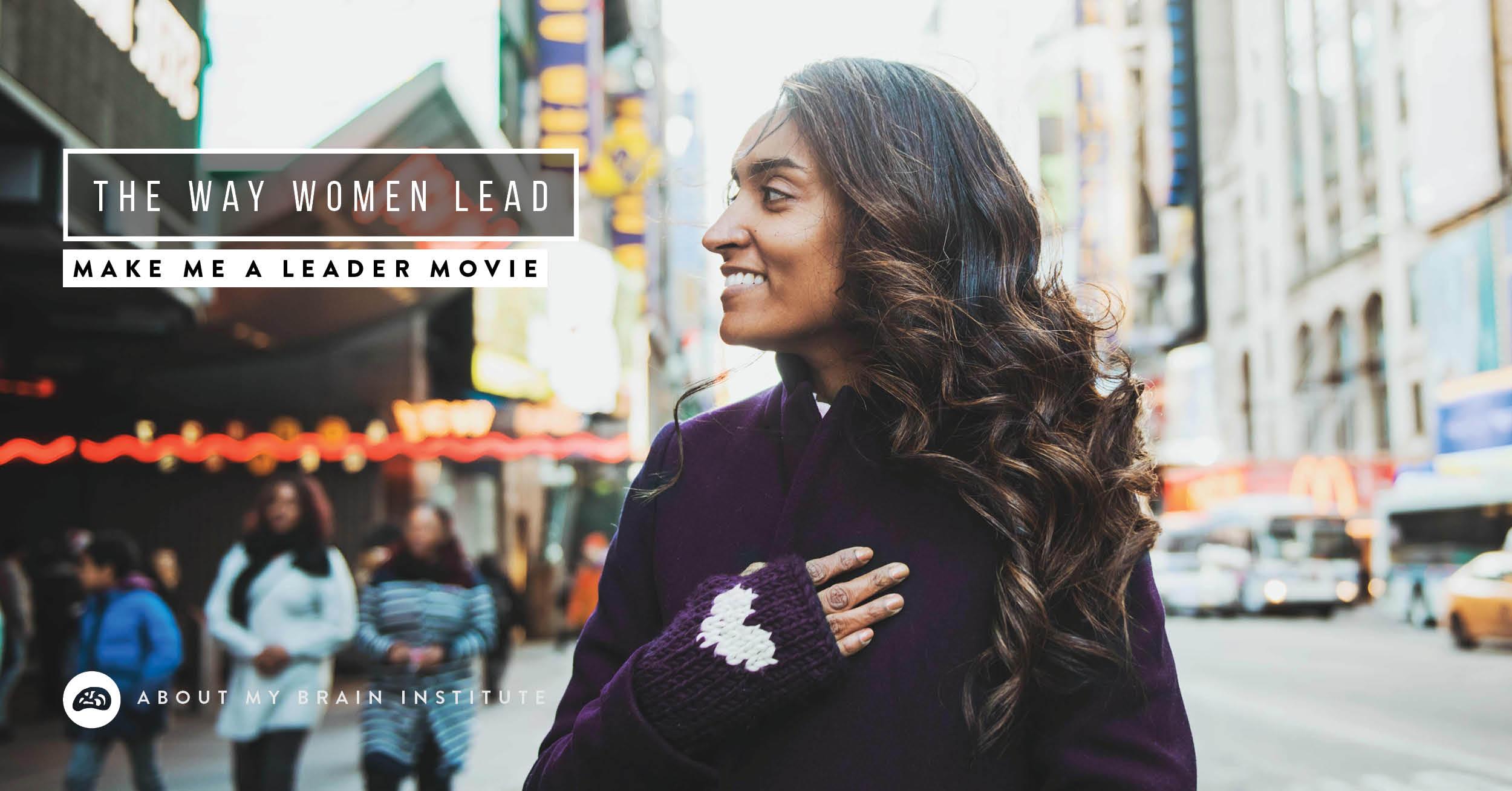 The Way Women Lead
