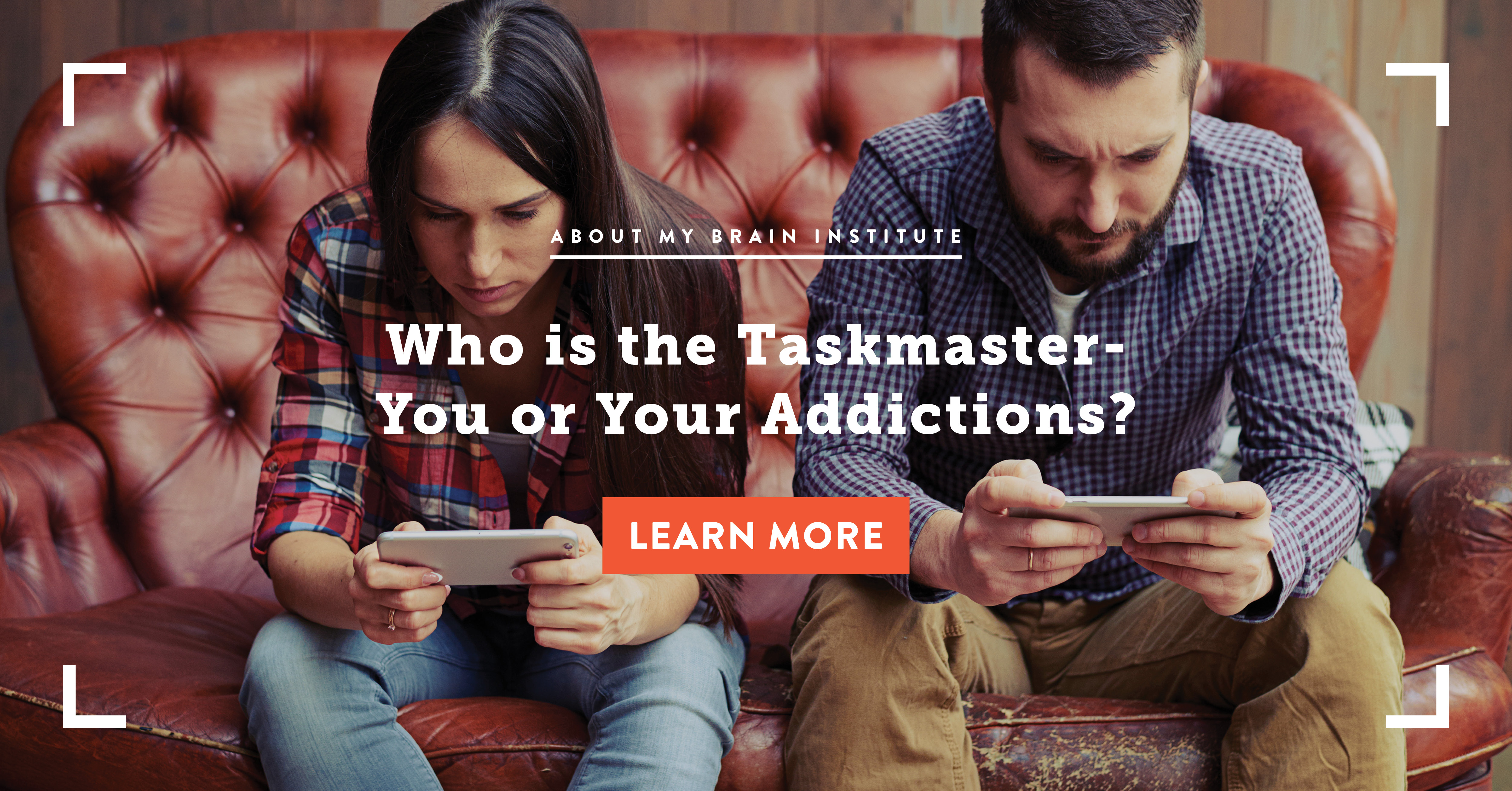 Who Is The Taskmaster - You Or Your Addictions?