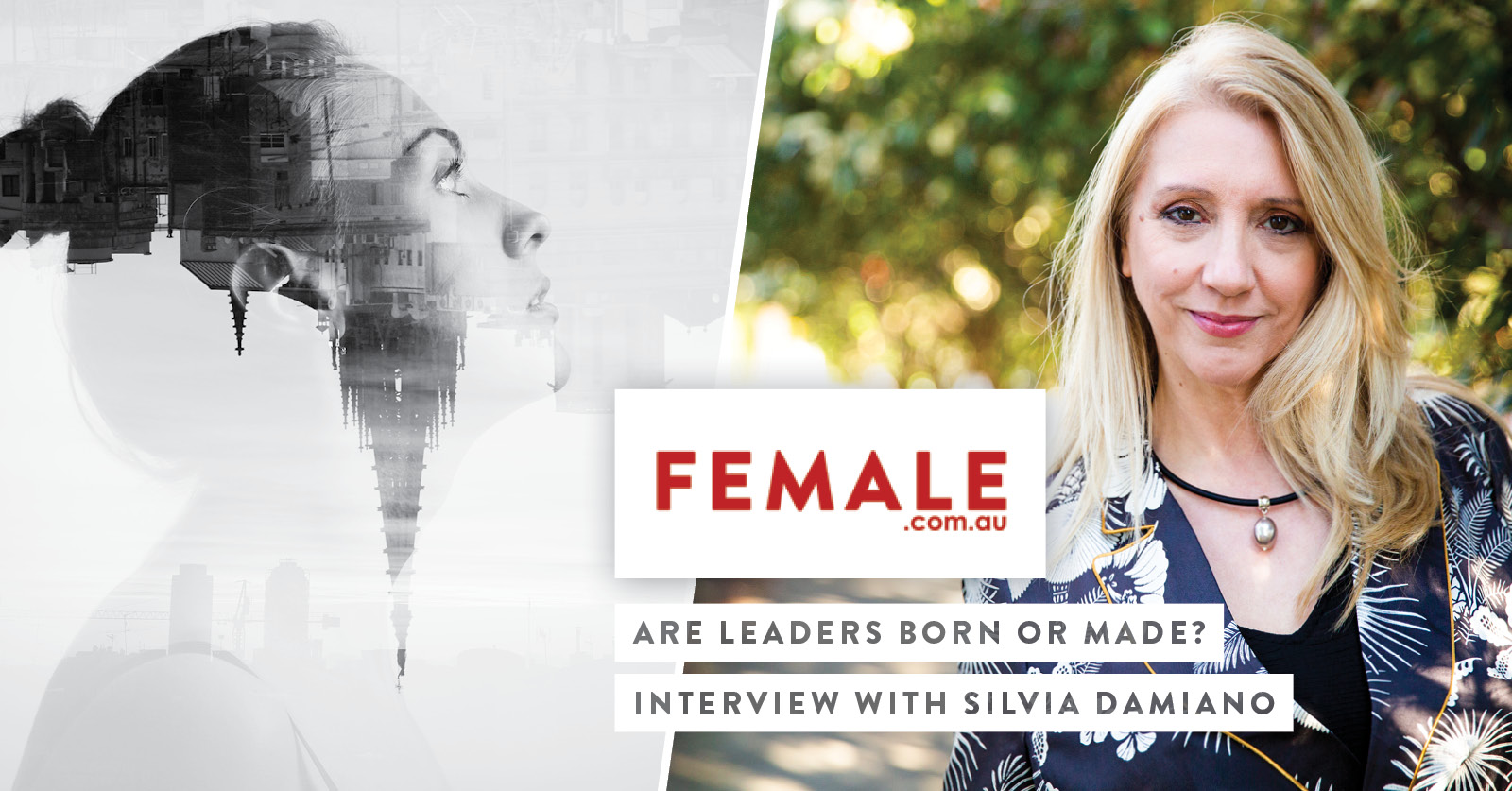 Female.com.au: Are Leaders Born Or Made?