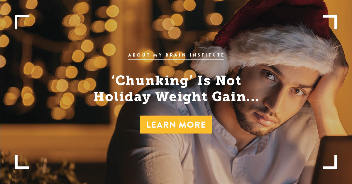 'Chunking' Is Not Holiday Weight Gain...
