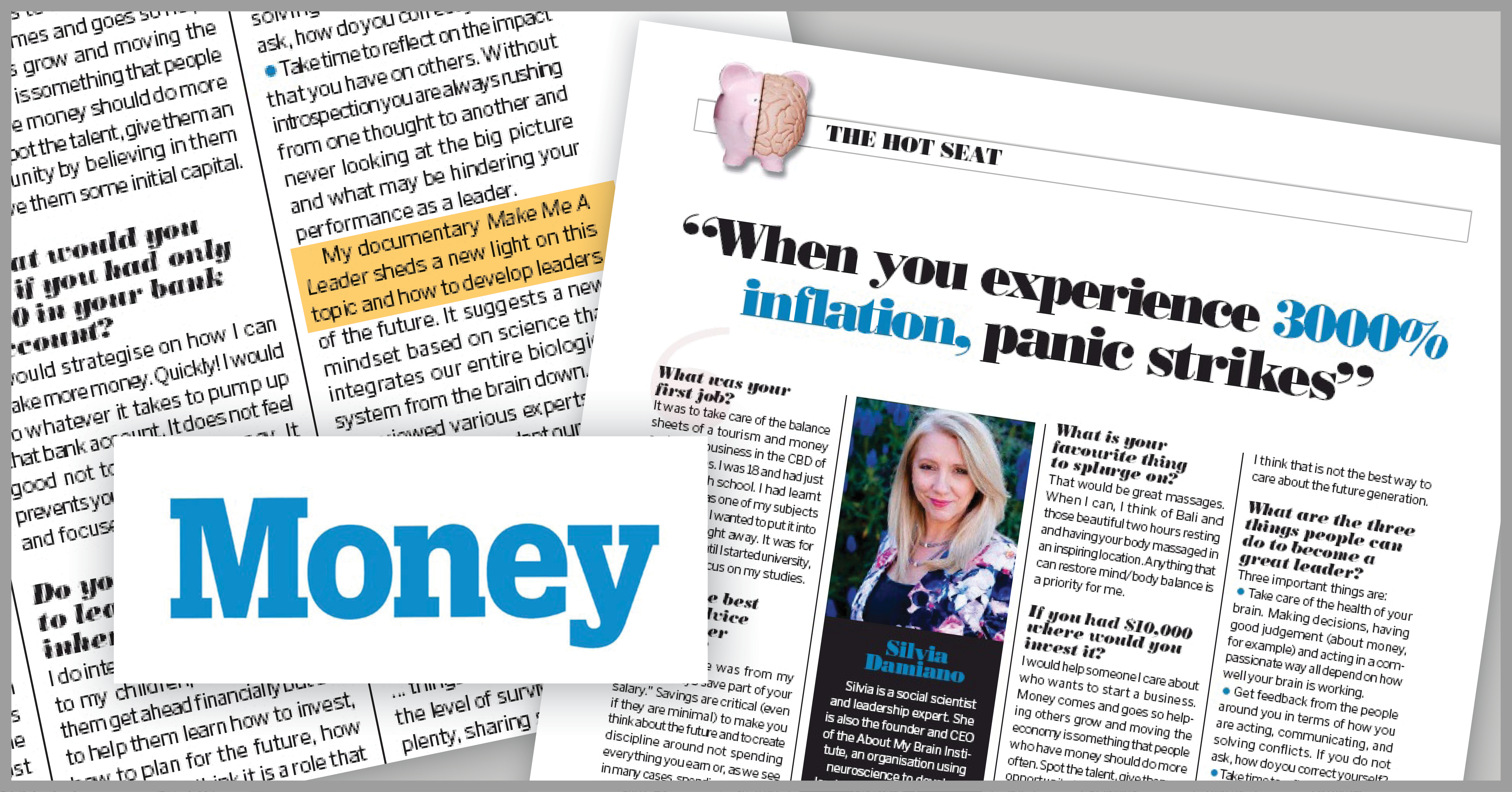 Money Magazine: When You Experience 3000% Inflation, Panic Strikes!