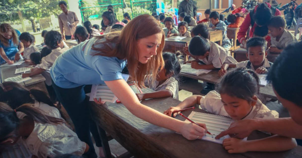 A Journey From The Classroom To Cambodia