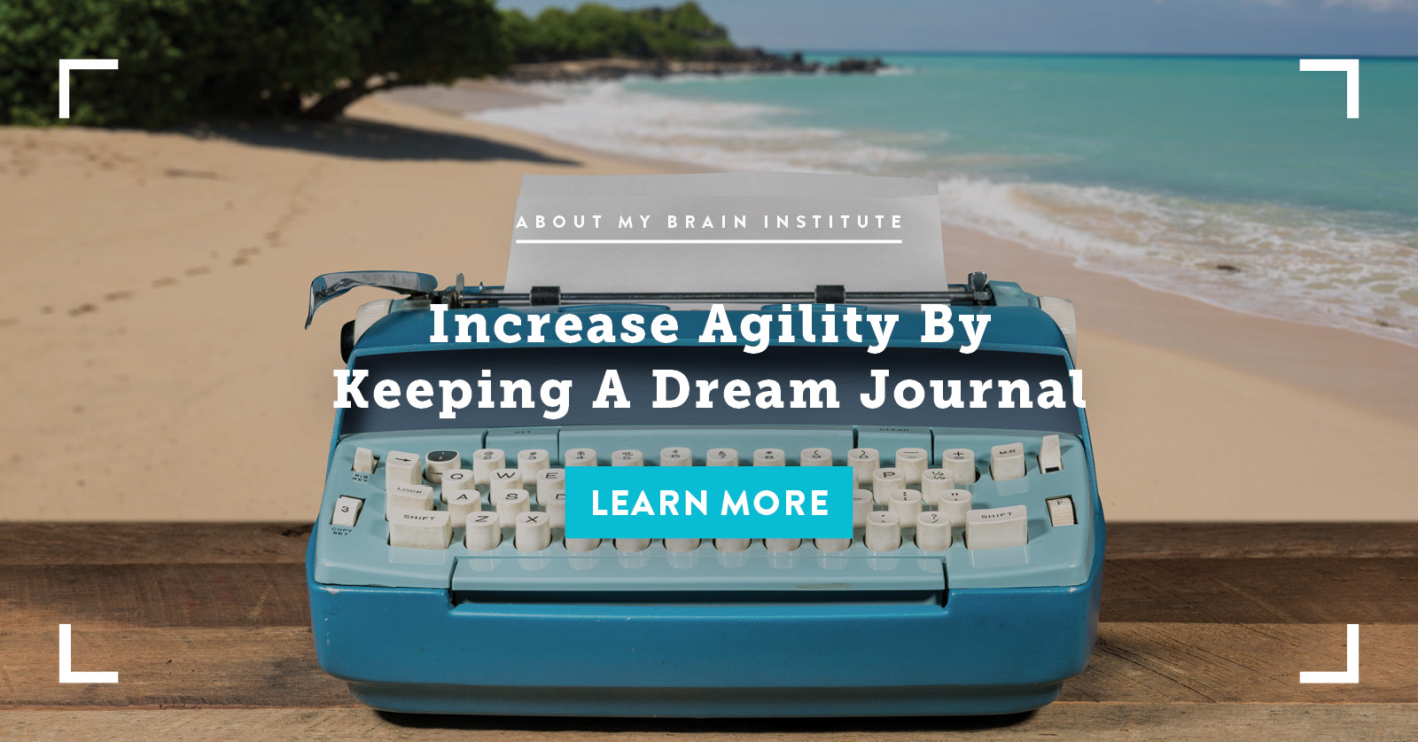 Increase Agility by Keeping a Dream Journal