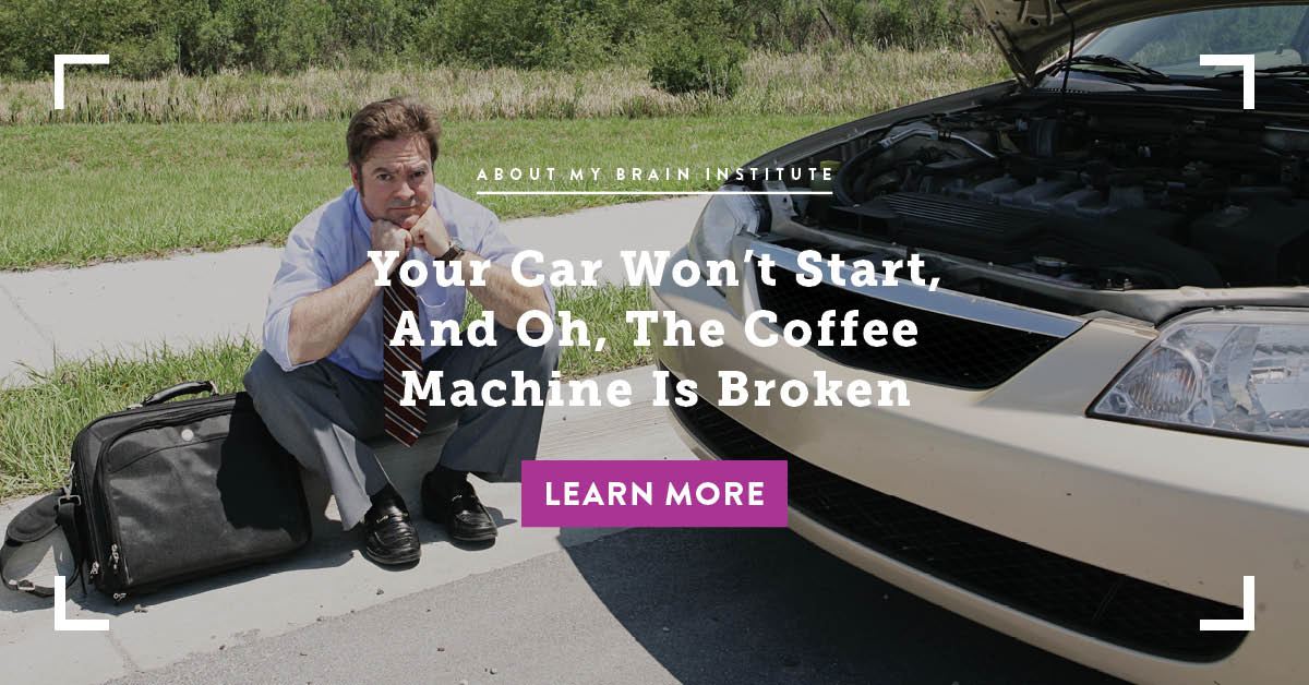 Your Car Won't Start, And Oh, The Coffee Machine Is Broken