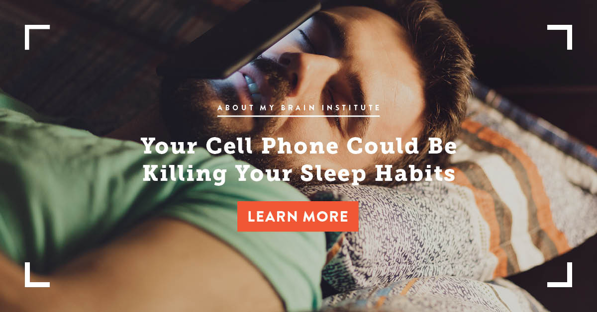 Your Cell Phone Could Be Killing Your Sleep Habits