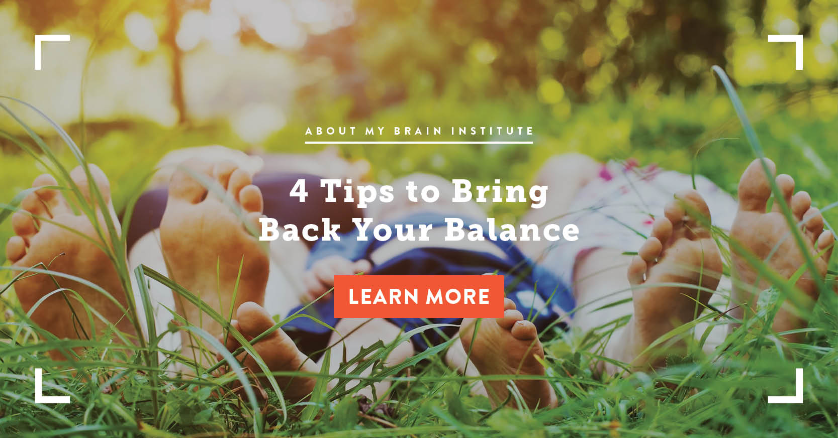 4 Tips To Bring Back Your Balance