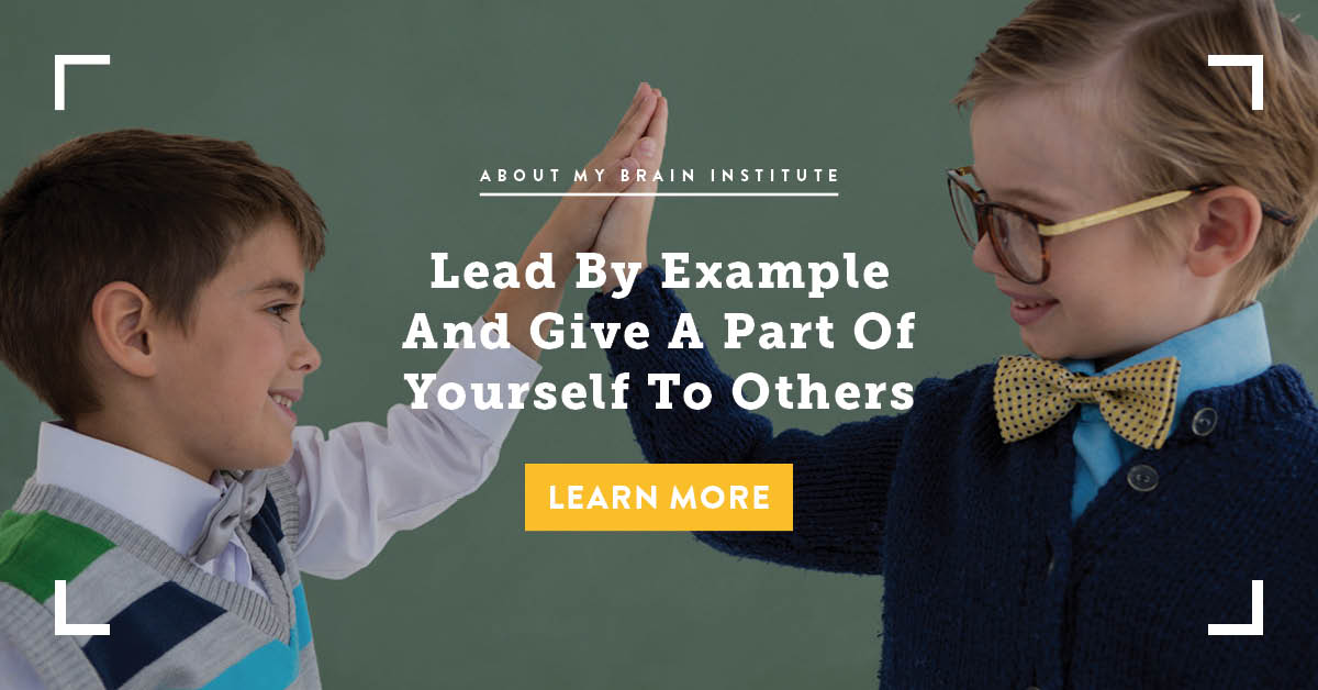 Lead By Example And Give A Part Of Yourself To Others