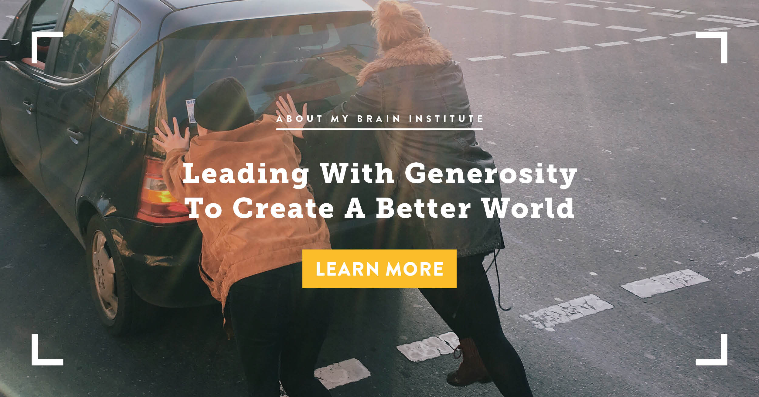 Leading With Generosity To Create A Better World