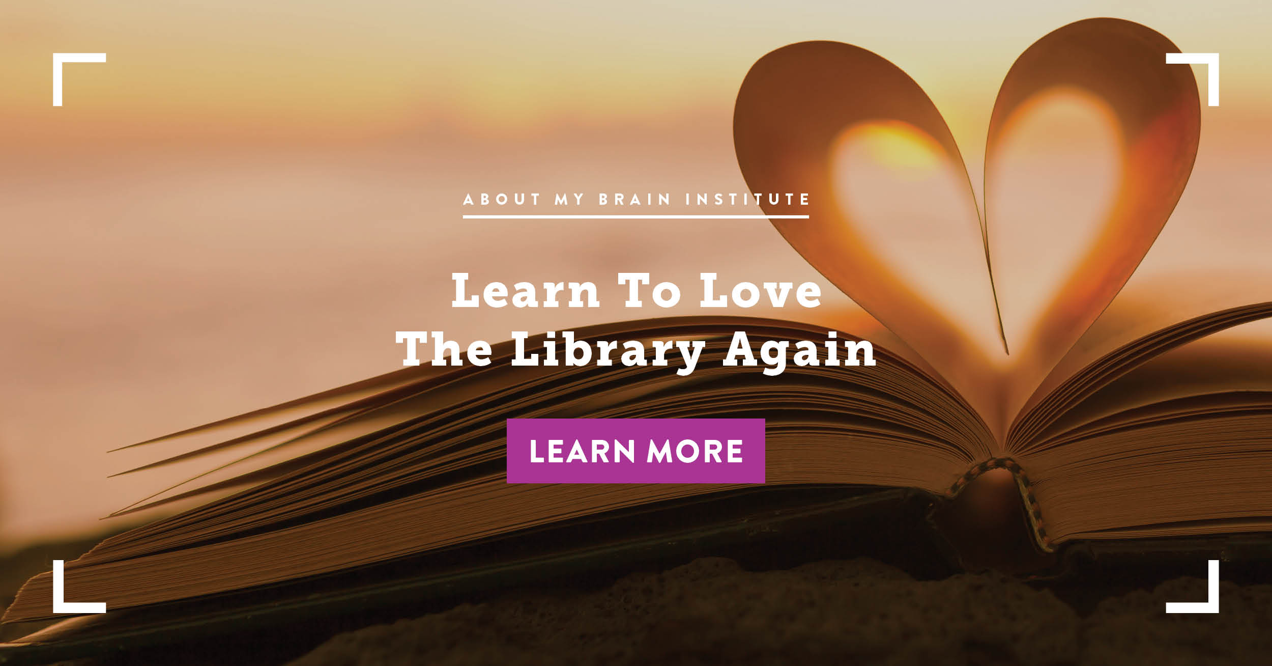 Learn to Love the Library Again