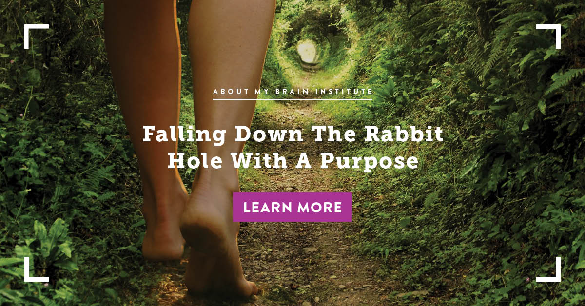 Falling Down The Rabbit Hole With A Purpose