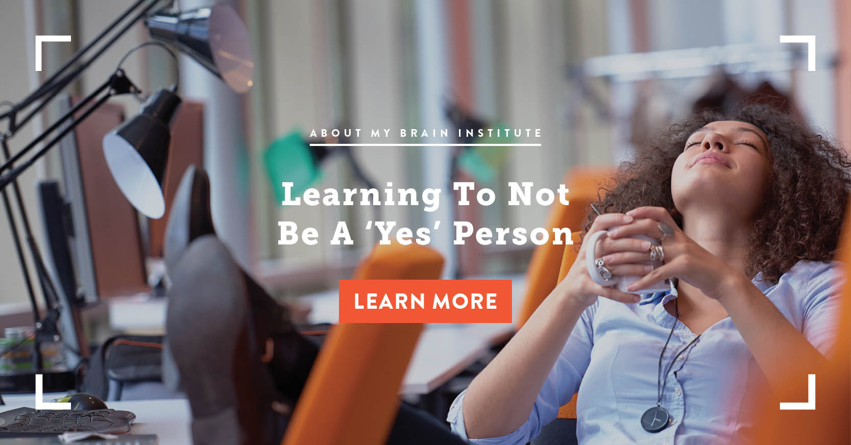 Learning To Not Be A 'Yes' Person