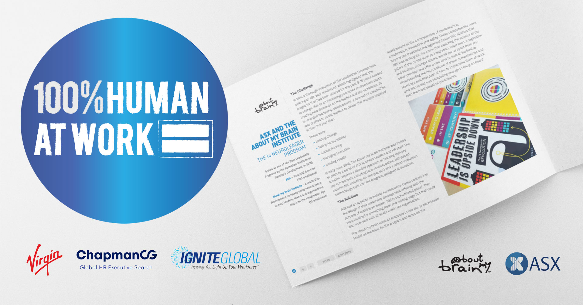 Featured In 'The 100% Human At Work' Virgin Unite Initiative